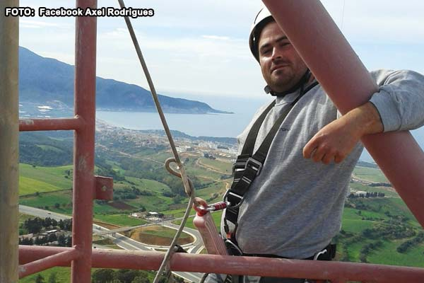 Homem morre em obra no parque de antenas em Almada