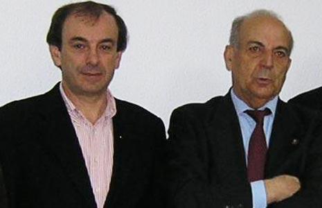Francisco Jerónimo (esquerda) e Rui Manhoso
